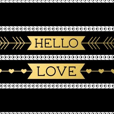 Hello Love Valentine Printables