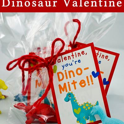 Free Printable Dinosaur Valentine's