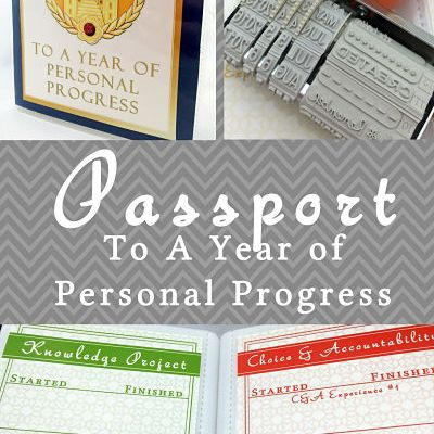 Young Women A Year To Personal Progress Passport