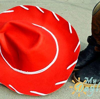 DIY Jessie Hat (from Toy Story)