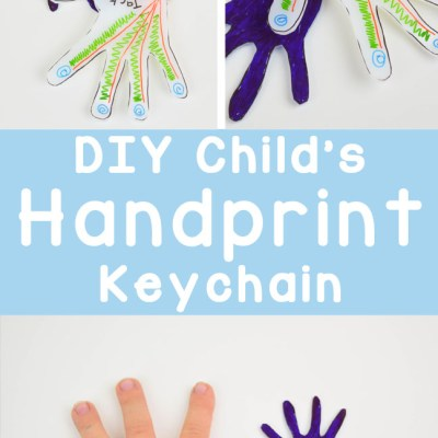 Child's Hand Keychains