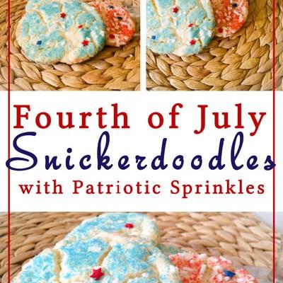 Patriotic Snickerdoodles