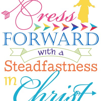 Press Forward 2016 Mutual Theme Printable