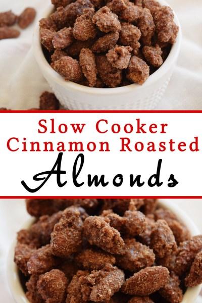 Slow Cooker Cinnamon Roasted Almonds