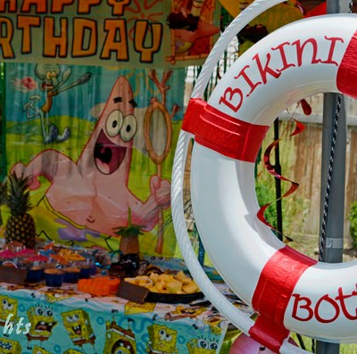 Spongebob Squarepants Birthday Party