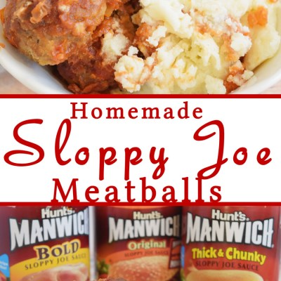 Homemade Sloppy Joe Meatballs