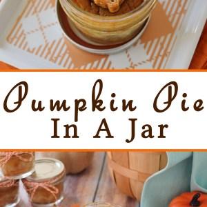 Pumpkin Pie In A Jar