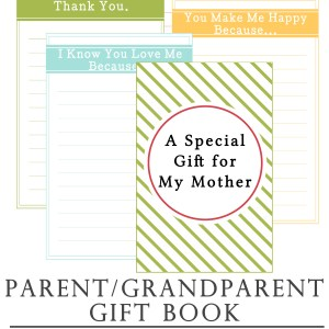 Parent Gift Book Printable #LightTheWorld