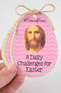 Easter QR Daily Challenges Booklet #PrinceofPeace