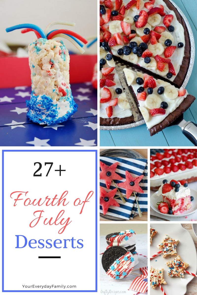 27+ Fourth of July Desserts