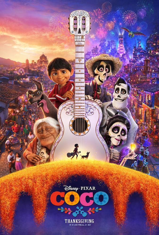 DisneyPixar Coco Movie Coloring