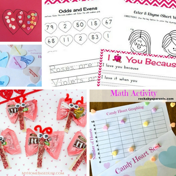 Valentine Classroom Activity Roundup