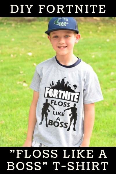 Fortnite Floss Like A Boss DIY T-shirt