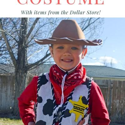 Disney DIY Sheriff Woody Dress Up