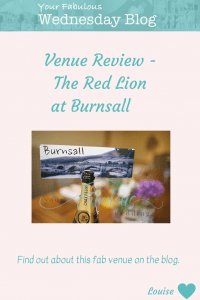 Venue Review - Red Lion at Burnsall