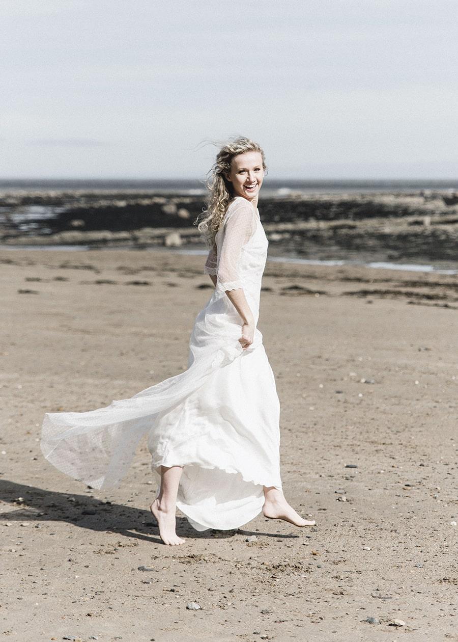 Boho Bride Beach Wedding