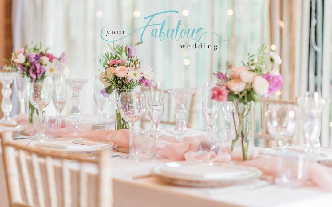 Pearlescent Wedding Table Styling by Your Fabulous Wedding