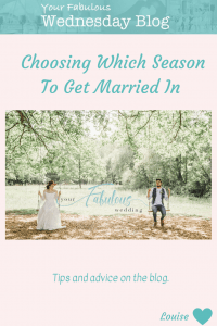 Choosing Which Season To Get Married In