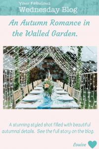 Autumn Romance in the Walled Garden