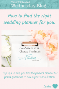 How to find the right wedding planner for you