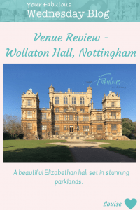 Venue Review - Wollaton Hall