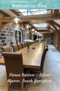 Venue Review - Spicer Manor