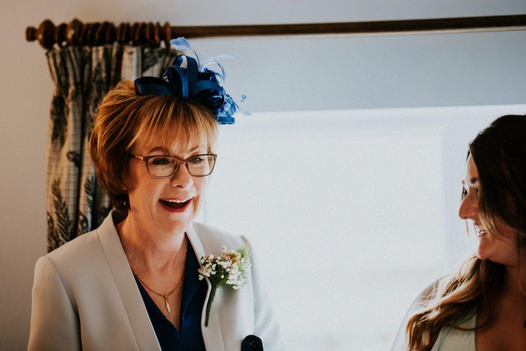 Bride's mum