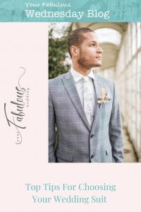Top Tips For Choosing Your Wedding Suit