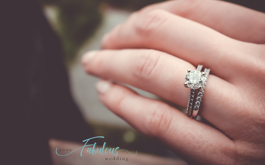 Your Engagement Ring On Your Wedding Day
