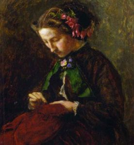 Effie Grey by Millais