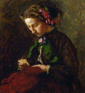 Effie Grey by Millais