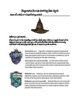 Sorting Hat Quiz Tips Choosing Your Hatter S Hat Style Your Fashion Guru