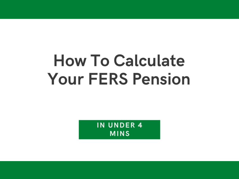 Calculating FERS Annuity
