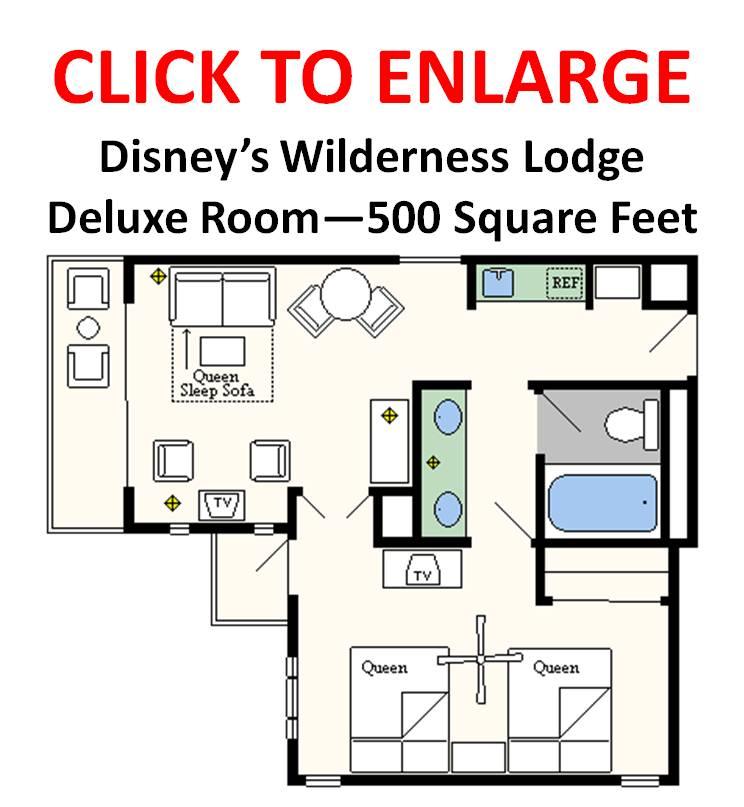 Disney Wilderness Lodge Club Level Suite