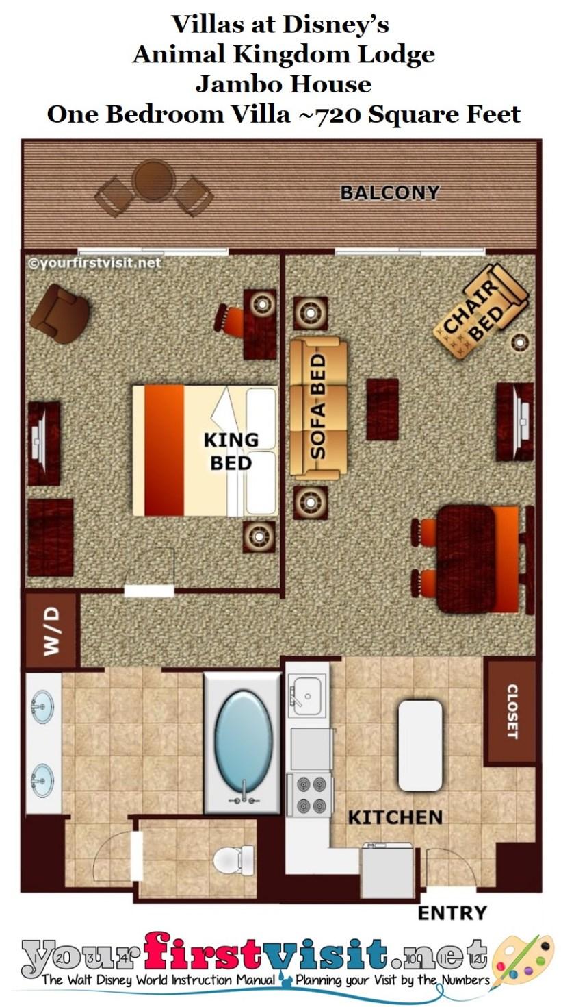 Animal Kingdom Lodge 2 Bedroom Villa Jambo House