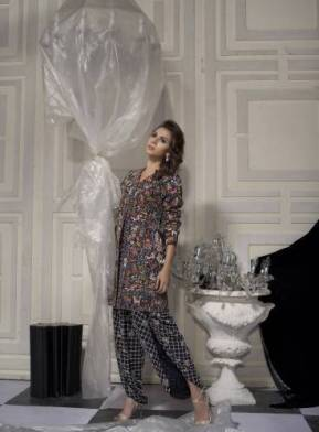 Nida Azwer Bridal Party Wear Dresses 2016 4