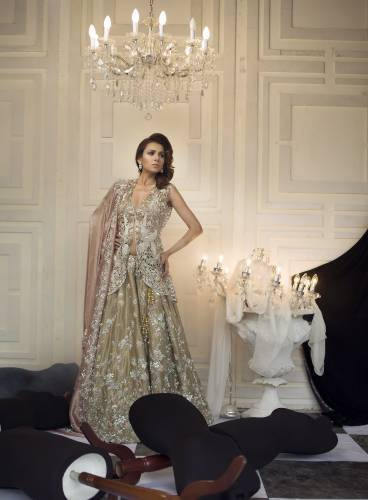 Nida Azwer Bridal Party wear dresses