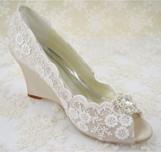Wedding Wedge Shoes Styles To Try This Season 6