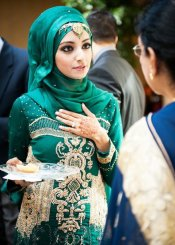 Bridal Hijab Dresses Every Muslim Bride Should Check Out 4