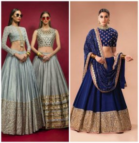 Tall Women Bridal Lehenga Dress Designs 2016 5