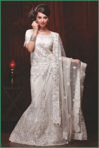 White Bridal Lehenga Trend On Pakistani Weddings