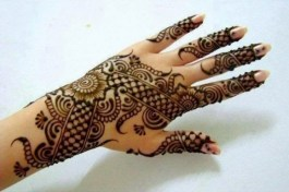 Bridal Eid Mehndi Designs For Summer Events 9