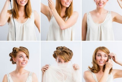 Step By Step Summer Bridal Hair Ideas