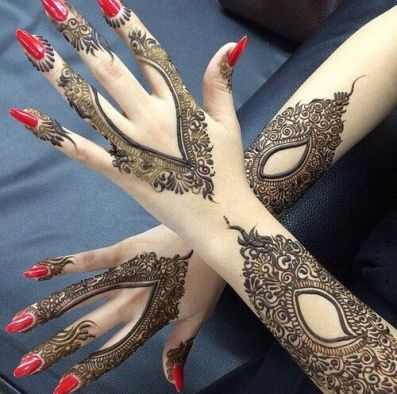 Fall Mehndi Designs For Brides and Guests 2016-17 2