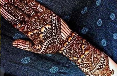 Fall Mehndi Designs For Brides and Guests 2016-17 5