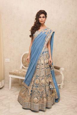 Luxury Colors Indian Lehenga Dresses For Brides 2016-17 2