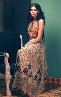 Tena Durrani Summer Bridal Lehenga Formal Collection 2017 7