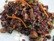 Black Japonica Rice Salad