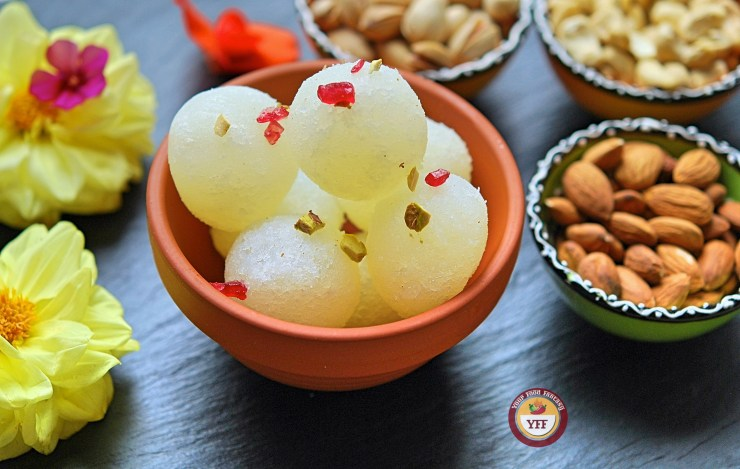 Rasgulla or Rasogulla Recipe | Your Food Fantasy