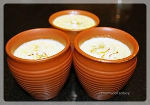 Badam Kesar Milk Recipe - Your Food Fantasy